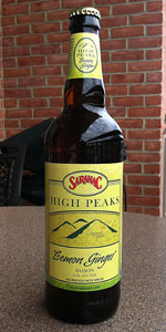 Saranac High Peaks Lemon Ginger