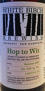 White Birch Hop To Wit