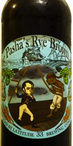 The Pasha's Rye Brown Ale