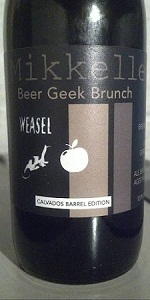 Beer Geek Brunch Weasel - Calvados Edition
