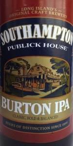 Southampton Burton IPA