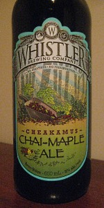 Cheakamus Chai-Maple Ale