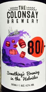 Colonsay 80/- Ale
