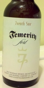 Temerity Fort (Barrel-Aged)