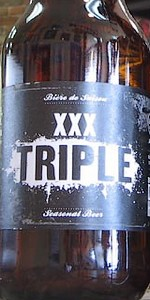 XXX Triple Blonde Belge