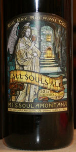All Souls Ale 2012 (Dark Tripel)