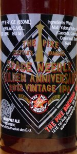 Space Needle Golden Anniversary 2012 Vintage IPA