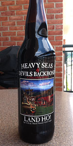 Land Ho! Black Pilsner Style Lager (Devil's Backbone Collaboration)