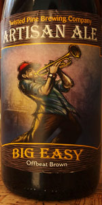 Twisted Pine Artisan Series - Big Easy Offbeat Brown Ale