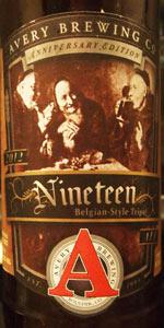 Avery Anniversary Ale - Nineteen