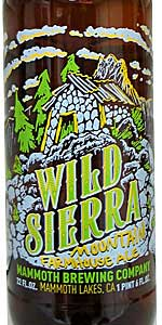 Wild Sierra Mountain Farmhouse Ale