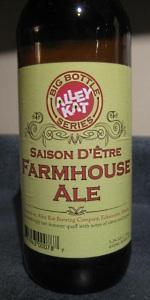 Saison D'Etre Farmhouse Ale