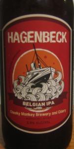 Hagenbeck Belgian IPA