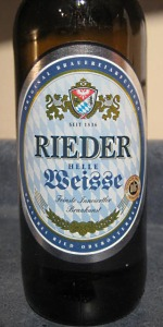Rieder Helle Weisse