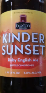 Kinder Sunset