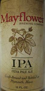 Mayflower IPA Dry Hopped With Simcoe Hops