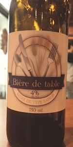 Bière De Table
