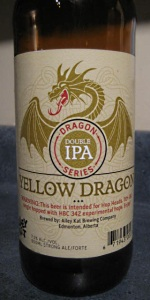 Dragon Series Yellow Dragon Double IPA