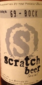 Scratch Beer 69 - 2012 (More Helles, Less Bock)
