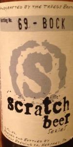 Scratch Beer 69 - 2012 (More Helles, Less Bock)