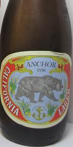 Anchor Zymaster Series No. 1: California Lager