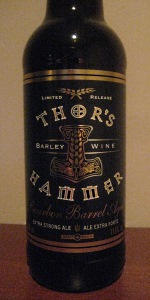 Bourbon Barrel Aged Thor's Hammer Barley Wine