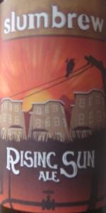 Slumbrew Rising Sun Ale