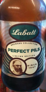 Labatt Brewers Collection Perfect Pils