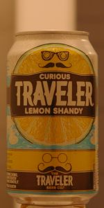 Curious Traveler Lemon Shandy