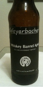 Whiskey Barrel Aged