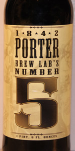 Brew Labs #5 1842 Porter