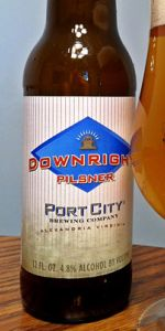 Downright Pilsner