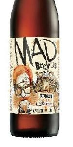 Mad Brewers Ginger Chops Ale