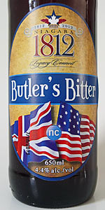 First Draft 1812 Butler's Bitter