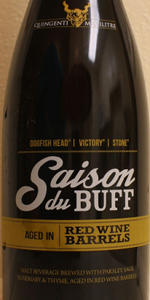 Saison Du BUFF - Red Wine Barrel Aged