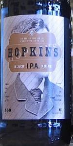 Hopkins Black IPA Noire