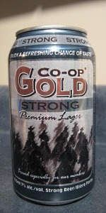 Co-op Strong Lager