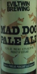Mad Dog Pale Ale