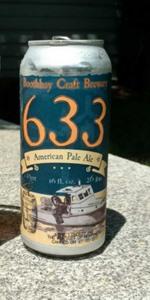 """633"" American Pale Ale"