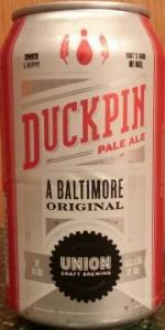 Duckpin Pale Ale