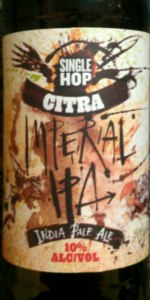 Single Hop Imperial IPA (Citra)