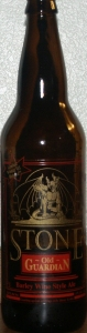 Stone Old Guardian Barley Wine Style Ale 2003