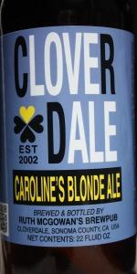 Caroline's Blonde