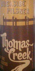Thomas Creek Dockside Pilsner