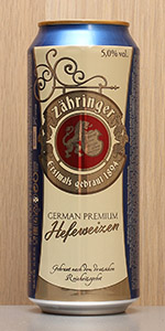 Zahringer German Premium Hefeweizen