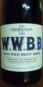 """Crooked Stave Wild Wild Brett """"Blue"""""""