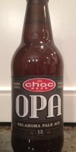 OPA-Oklahoma Pale Ale