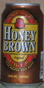 Original Honey Brown Extra Rich Lager (Beer Brewed With Honey)