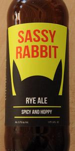 Sassy Rabbit Rye Ale