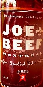 Joe Beef Special Pils